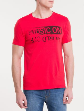 Camiseta-Ckj-Mc-Est-Music-On---Vermelho-