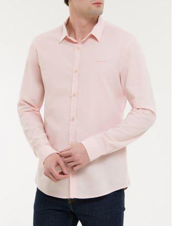 Camisa-Ml-Ckj-Masc-Maquinetado-Com-Silk---Rosa-Claro-