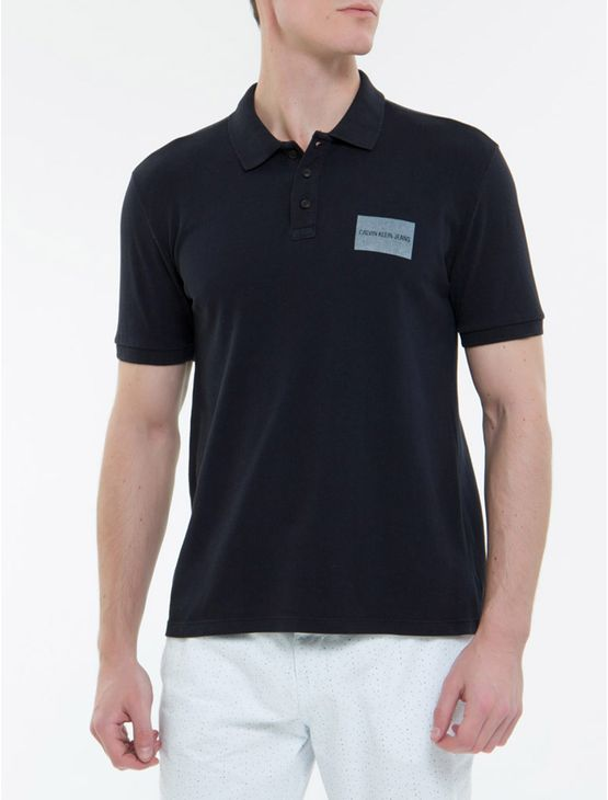 Polo-Ckj-Mc-Silk-Etiqueta---Preto-