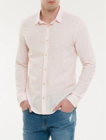 Camisa-Ml-Ckj-Masc-Listrada-Silk---Papaia-