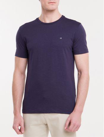 Camiseta-Slim-Flame-Calvin-Klein---Marinho-