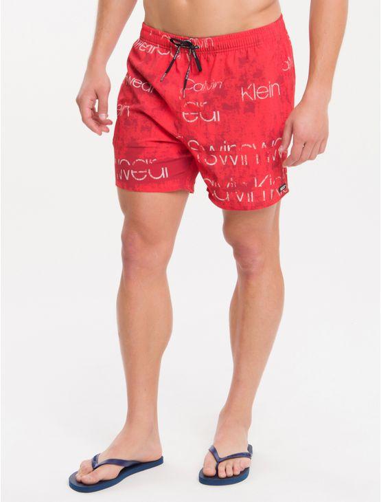 Shorts-Dagua-Ckj-Estampada-Logomania---Vermelho-