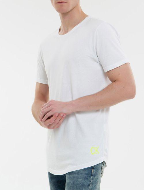 Camiseta Ckj Mc Ck Jeans Logo - Branco 2