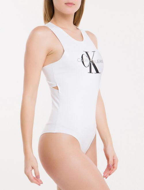 Body Ckj Fem Sleeveless - Branco 2