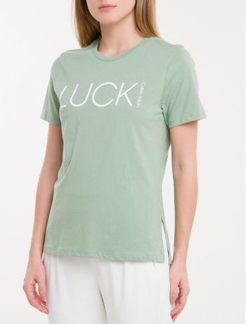 Camiseta-Baby-Look-New-Year-Luck---Verde-Claro-