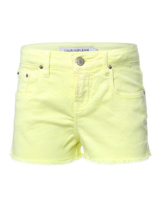 Shorts-Color-Cintura-Alta-Five-Pockets---Amarelo-Fluor-