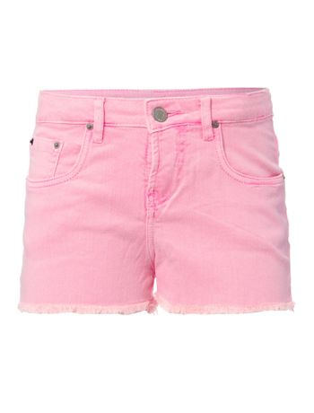 Shorts-Color-Cintura-Alta-Five-Pockets---Rosa-Fluor-