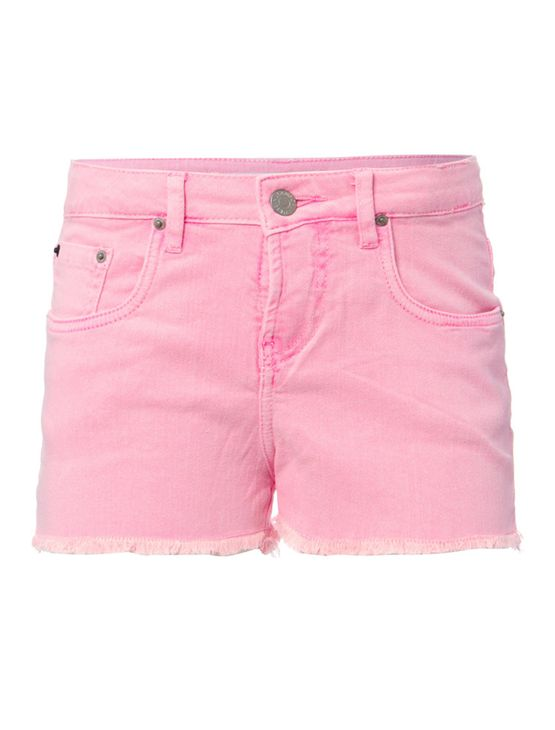 Shorts-Color-Cintura-Alta-Five-Pockets---Rosa-Fluor-