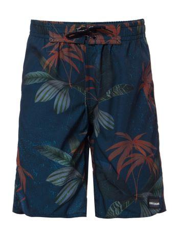 Bermuda-Dagua-Ckj-Floral---Azul-Escuro-