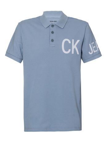 Polo-Ckj-Mc-Est-Ck-Jeans---Azul-Claro-