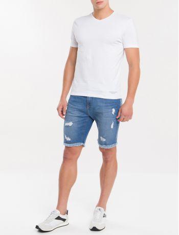 Kit-2-Camisetas-De-Cotton-Gola-V---Branco-2-