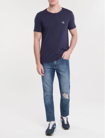 Camiseta-Ckj-Mc-Re-Issue-Pequeno---Marinho-