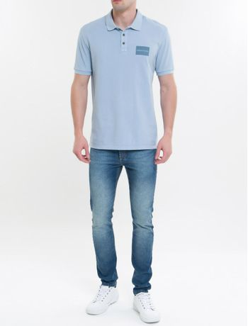 Polo-Ckj-Mc-Silk-Etiqueta---Azul-Claro-