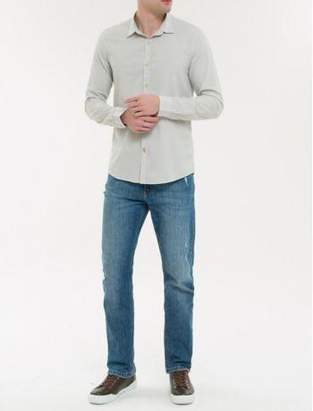 Camisa-Ml-Ckj-Masc-Listrada---Cinza-Claro-