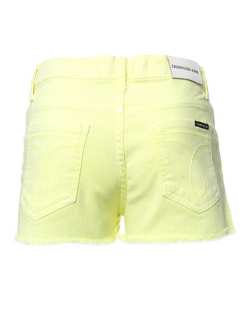 Shorts-Color-Cintura-Alta-Five-Pockets---Amarelo-Fluor-