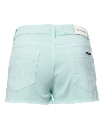 Shorts-Color-Cintura-Alta-Five-Pockets---Verde-Claro-
