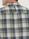 Camisa-Ml-Ckj-Masc-Xadrez-Silk---Militar-