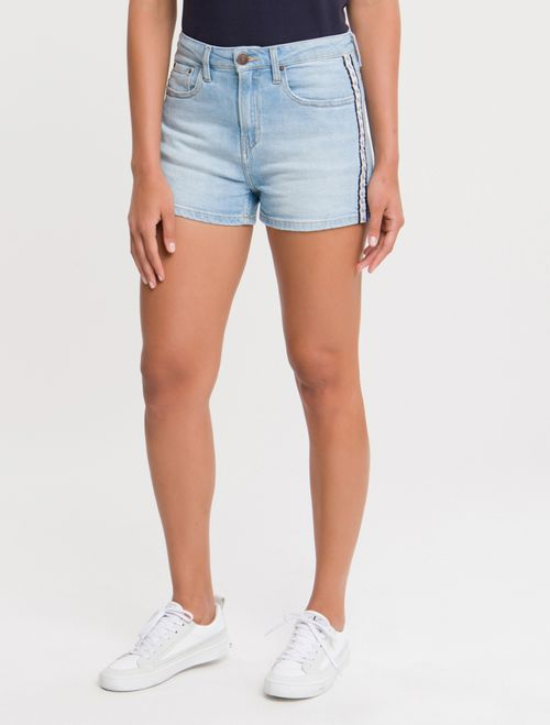 Shorts Jeans Five Pockets - Azul Claro