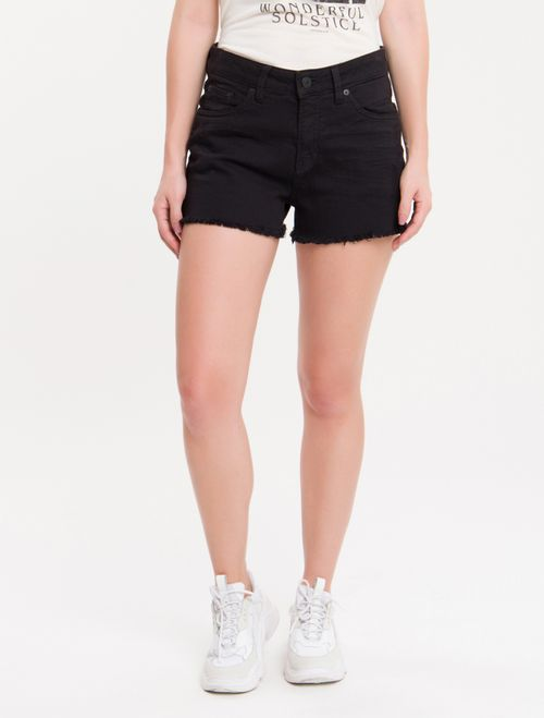Shorts Color Five Pockets - Preto