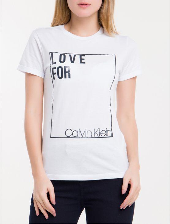 Camiseta-Silk-Love-For-Calvin-Klein---Branco-2
