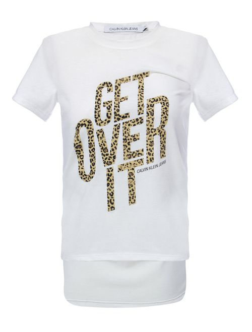 Blusa Mc Ckj Get Over It - Off White