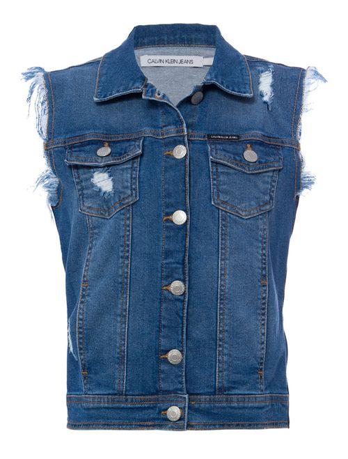 Colete Jeans - Azul Claro