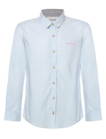 Camisa-Ml-Ckj-Listrada-Com-Silk-Logo---Azul-Claro-