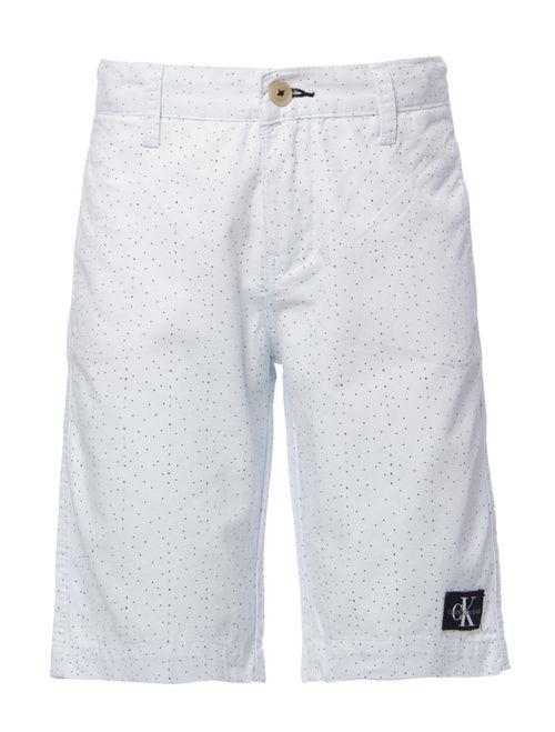 Bermuda Color Chino Estampada - Branco 2