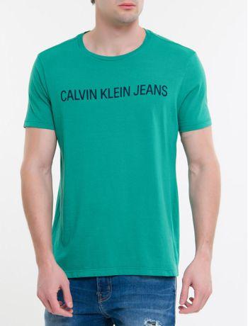 Camiseta-Ckj-Mc-Institucional---Verde