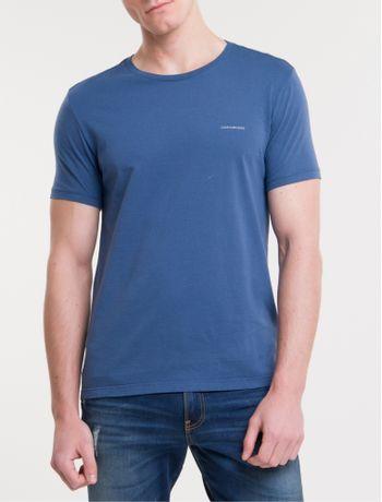 Camiseta-Ckj-Mc-Basica---Azul-Escuro