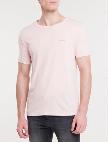 Camiseta-Ckj-Mc-Basica---Rosa-Claro