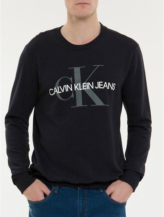 Camiseta-Ckj-Ml-Est-Re-Issue---Preto