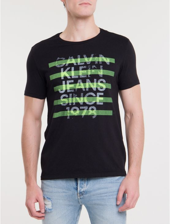 Camiseta-Ckj-Mc-Est-Since-1978---Preto