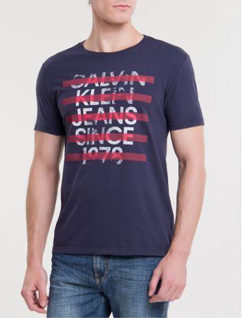 Camiseta-Ckj-Mc-Est-Since-1978---Marinho