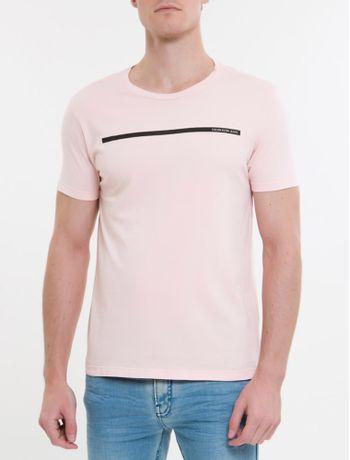 Camiseta-Ckj-Mc-Est-Palito---Rosa-Claro