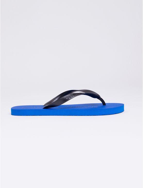 Chinelo-Ckj-Est-Masc-Logo-Contraste---Azul-Escuro-