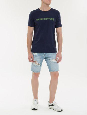 Camiseta-Ckj-Mc-Est-Nineteen---Marinho