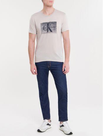 Camiseta-Ckj-Mc-Re-Issue-Devore---Mescla