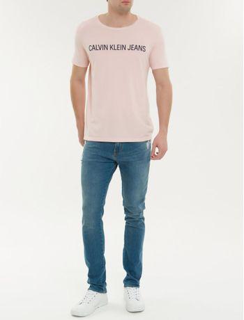Camiseta-Ckj-Mc-Institucional---Rosa-Claro