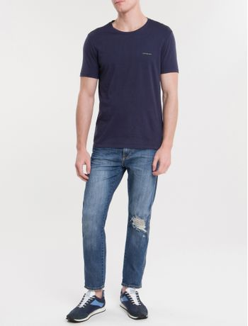 Camiseta-Ckj-Mc-Basica---Marinho