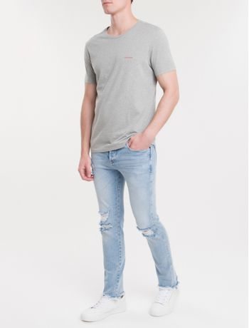 Camiseta-Ckj-Mc-Re-Issue-Pequeno---Mescla
