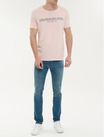 Camiseta-Ckj-Mc-Est-Calvin-Ny---Rosa-Claro