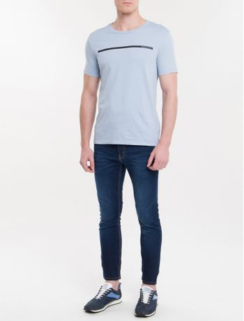 Camiseta-Ckj-Mc-Est-Palito---Azul-Claro
