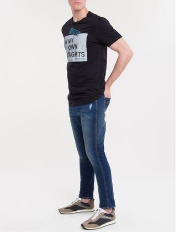 Camiseta-Ckj-Mc-Est-Thoughts---Preto