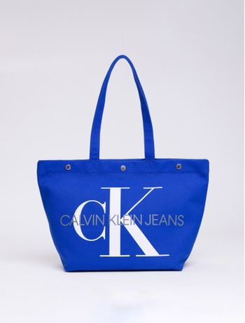 Bolsa-Fem-Ckj-Canvas-Utility---Azul-Royal-