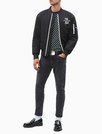 Calca-Jeans-Five-Pockets-Slim-Taper-5050---Preto-