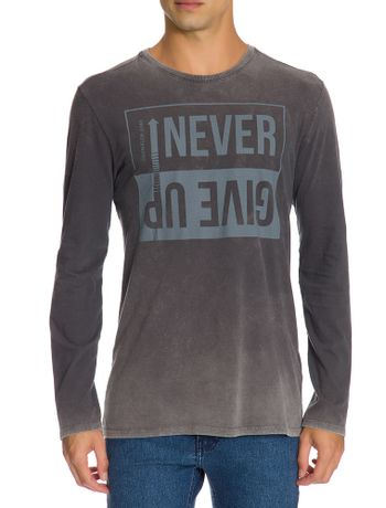 Camiseta-Ckj-Ml-Est-Boring---Preto