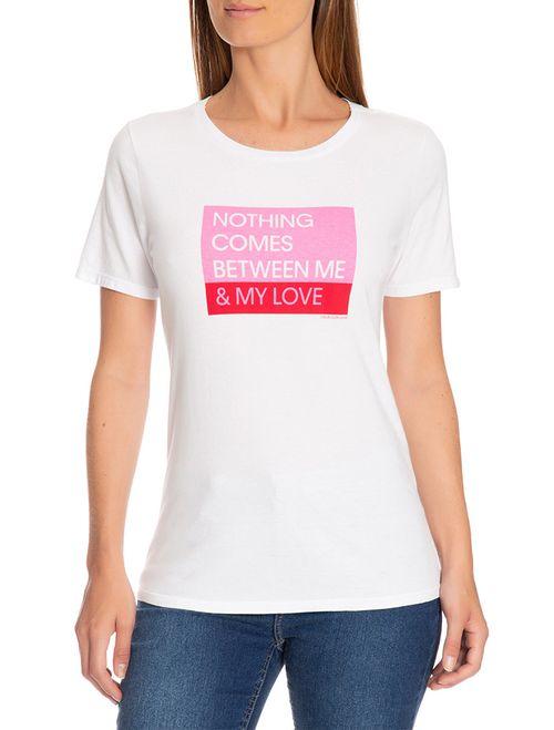 Blusa Ckj Mc Est Love - Branco