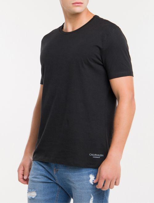 Kit 2 Camisetas De Cotton Gola Careca