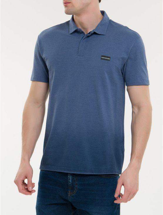 Polo-Ckj-Mc-Termocolante-Logo---Azul-Escuro